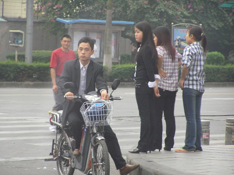 Qing Xi drive to work