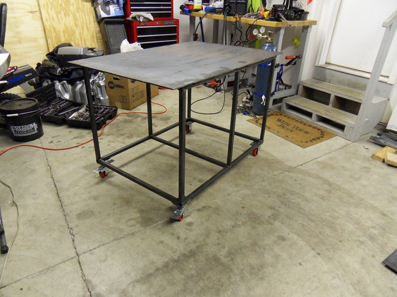 Welding table plans - Plan fabrication table ...